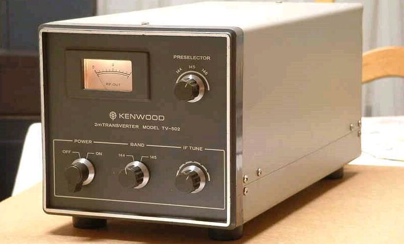 KENWOOD TV-502 xverter for TS-520
