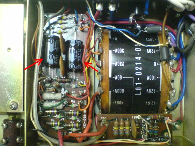 kenwood ts-520 rectifier unit